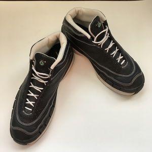 JORDAN Vintage Sneakers in Charcoal Grey with Pins